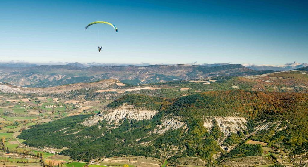 vol en parapente initiation