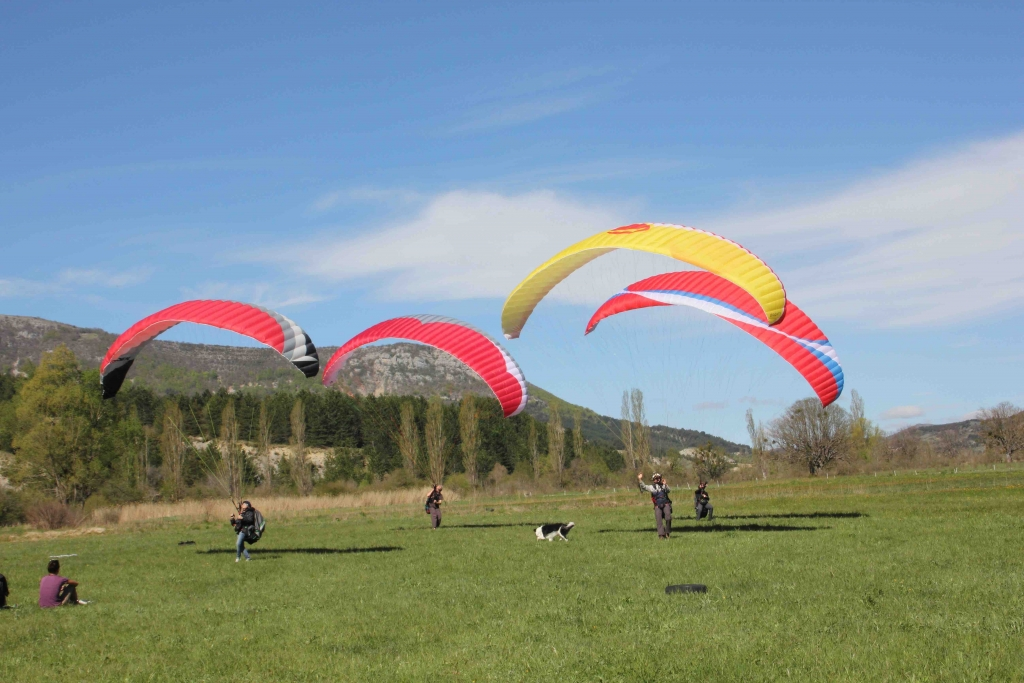 stage initiation provence parapente